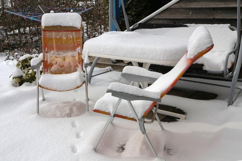 utemöbler hur förvara på vintern
